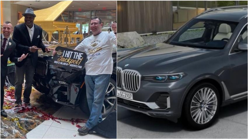 Enfermero de Covid de Florida es sorprendido con un BMW de $100 mil dólares en un casino local