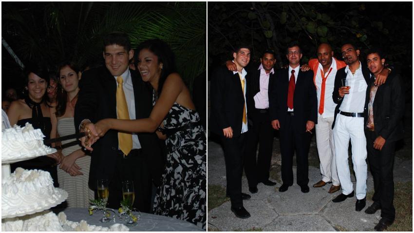 Se filtran fotos de la boda del nieto de Raúl Castro (El Cangrejo), Randy Malcom, David Calzado y Haila entre los invitados