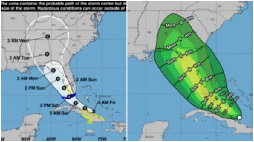 Depresión tropical Fred podría recuperar fuerza antes de llegar a Florida mientras azota el norte de Cuba