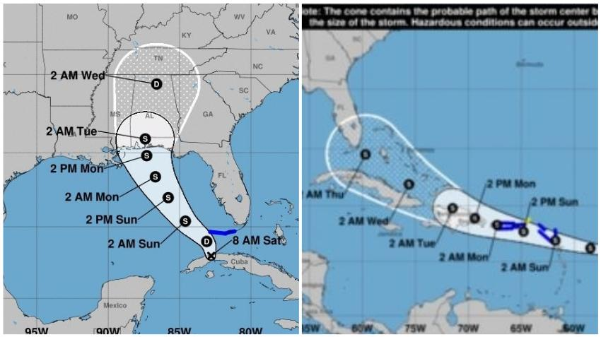 Fred trae fuertes lluvias al sur de Florida, mientras que se forma la Tormenta Tropical Grace