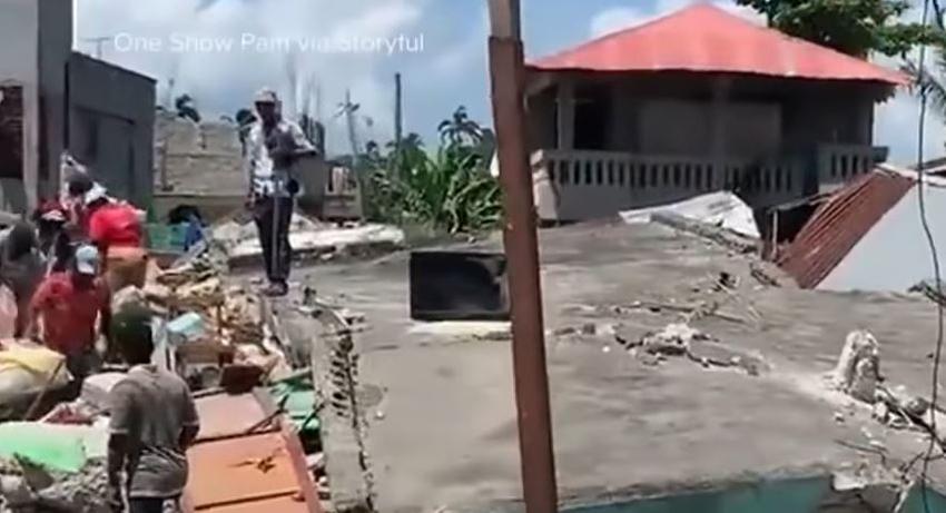 Número de fallecidos en Haití sube a más 300 a causa del terremoto