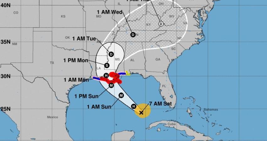 Huracán Ida abandona Cuba y se dirige a Louisiana donde podría llegar como categoría 4