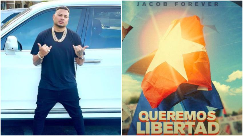 """Jacob Forever lanza tema por Cuba: """"Queremos Libertad"""""""