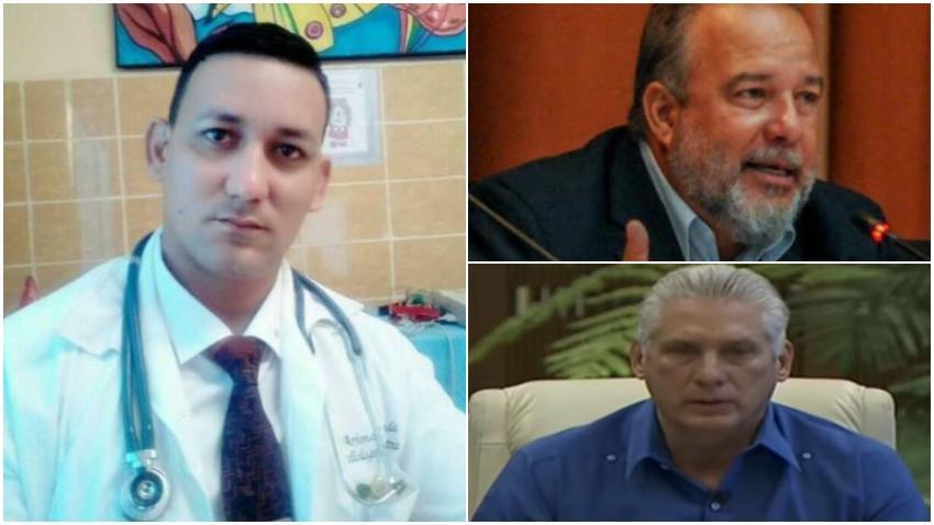 Doctor cubano pide a Díaz-Canel y a Marrero que renuncien