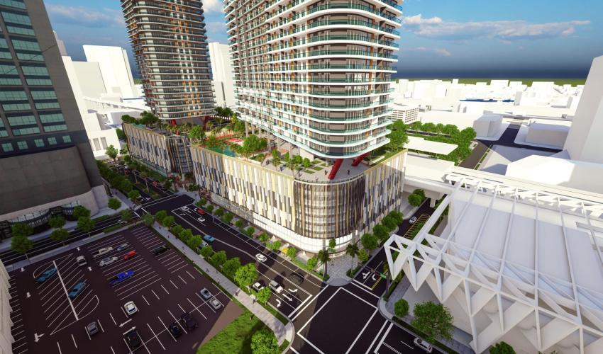 Dos rascacielos de 83 pisos en el Downtown de Miami para completar el proyecto Miami Central