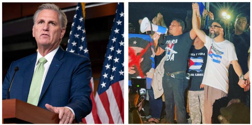 Influencers cubanos se reunirán en Miami con el líder republicano de la Cámara de Representantes de los EEUU