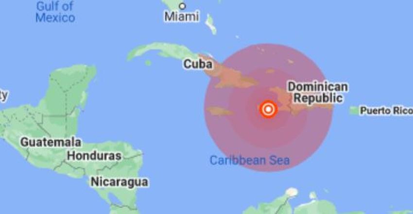 Sismo de magnitud 7.2 en Haití se hace sentir en el oriente cubano