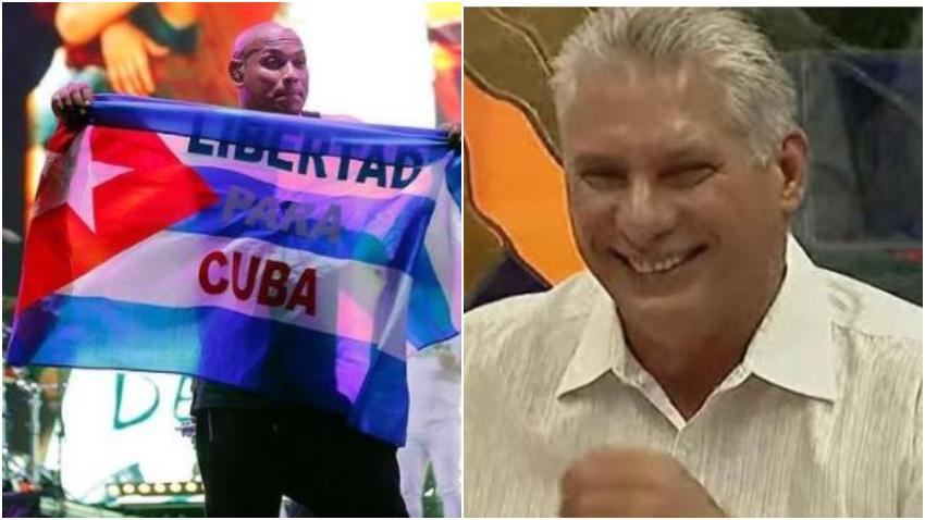 Alexander de Gente de Zona asegura que fue obligado a saludar a Díaz-Canel en su concierto en La Habana