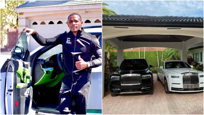 Boxeador cubano Erislandy Lara muestra sus autos de lujo y recuerda cuando andaba sin zapatos en Cuba