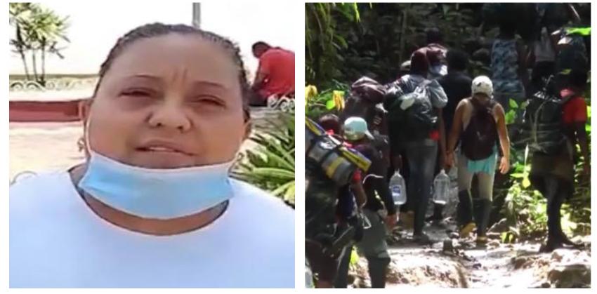 Cubana que cruzó el Tapón del Darién en cuatro ocasiones, ahora está varada en Tapachula, México