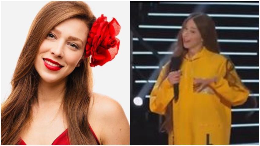 Cubana llega a concursar a Nuestra Belleza Latina vestida con un mensaje de Patria y Vida