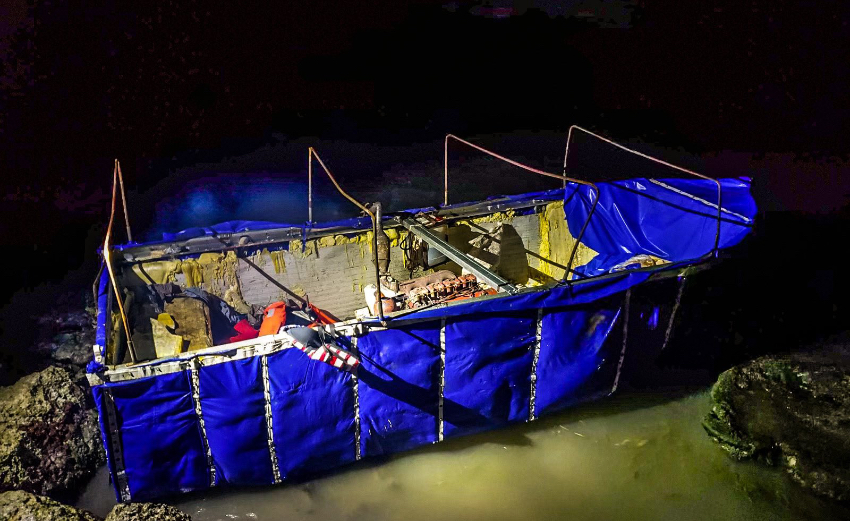 Patrulla Fronteriza capturó a 12 balseros cubanos que habían logrado tocar tierra en los Cayos de la Florida