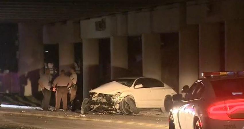 Dos hombres hospitalizados tras persecución policial en Miami-Dade