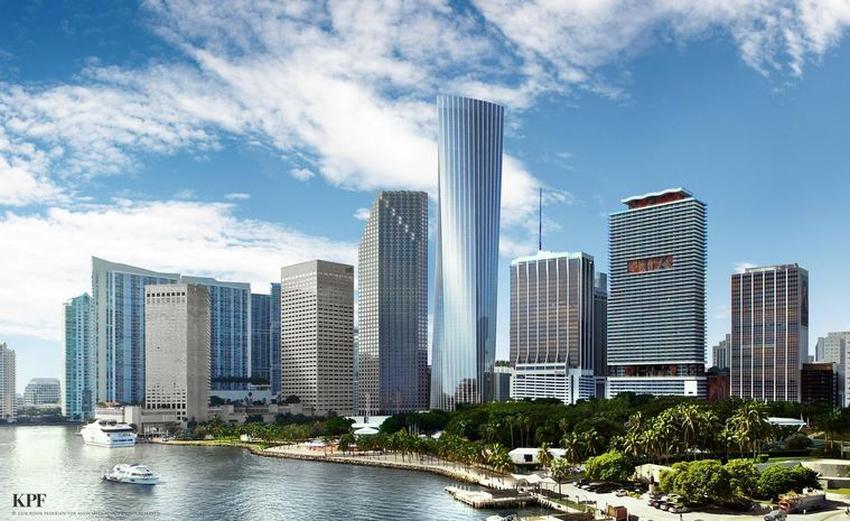 Preparan construcción en Miami del rascacielo más alto al sur de Nueva York