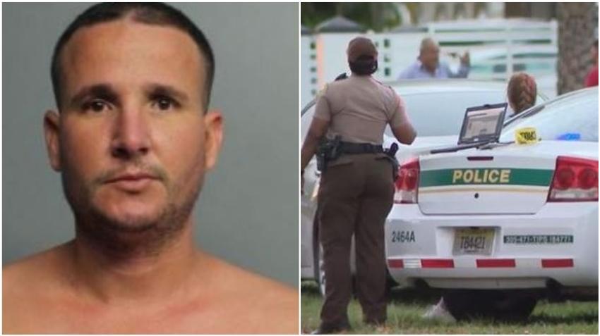Policía arresta al hombre de Miami acusado de derribar la puerta de su vecino y dispararle