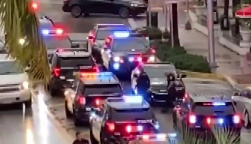 Cliente crea caos en un hotel en Miami Beach y provoca fuerte presencia policial