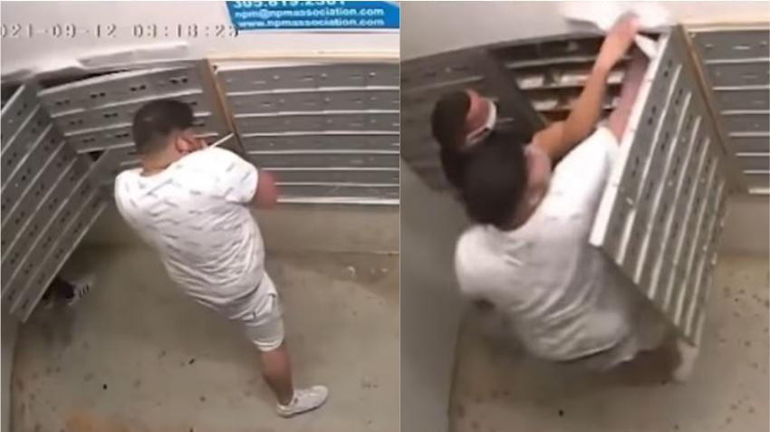 En Hialeah dos hombres roban la correspondencia en un condominio; son buscados por la policía