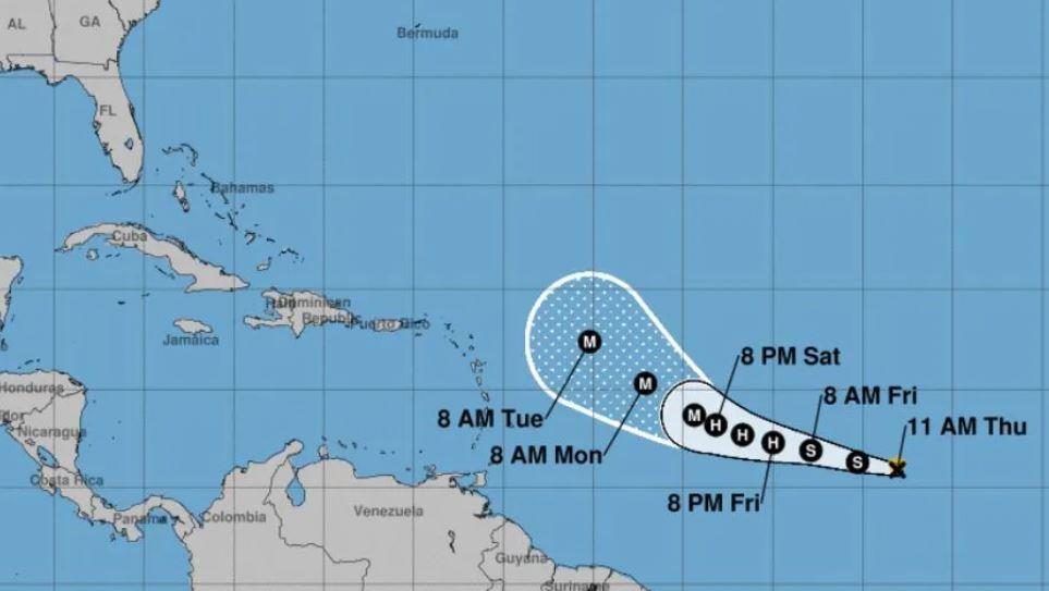 Se forma tormenta tropical que podría convertirse en poderoso huracán