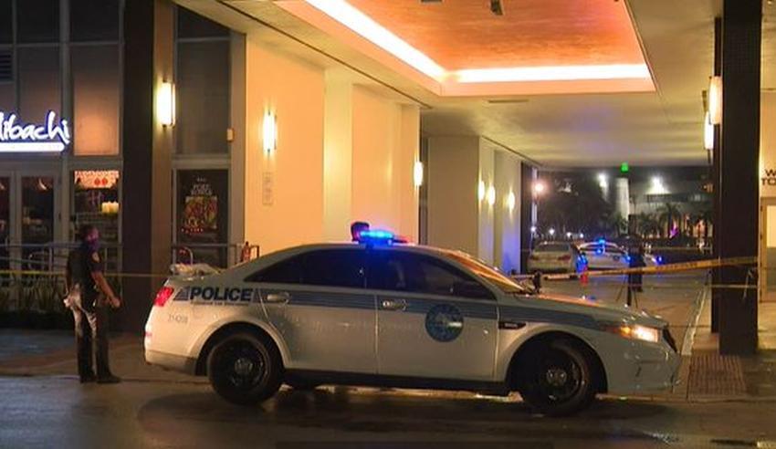 Hombre recibe disparos en lujosa zona de Brickell en  Miami