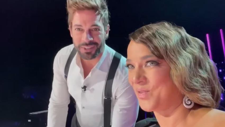 Actor cubano William Levy colma de elogios a la presentadora Adamari López